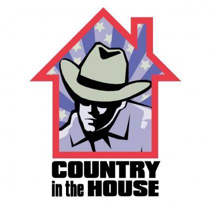 free vector Country in the house