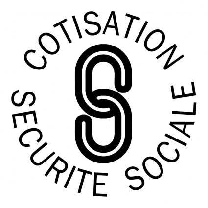 free vector Cotisation securite sociale