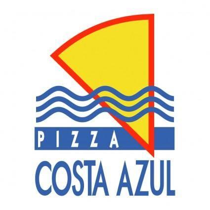 free vector Costa azul