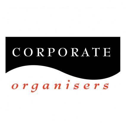 free vector Corporate organisers