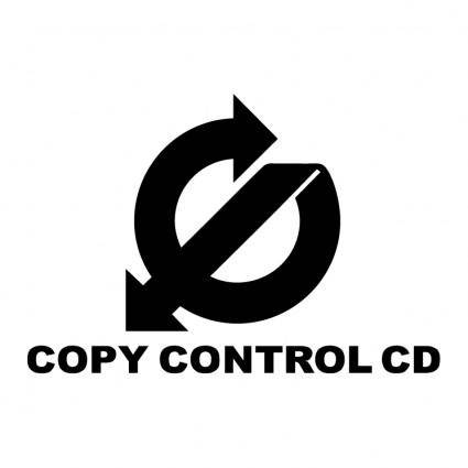 free vector Copy control cd