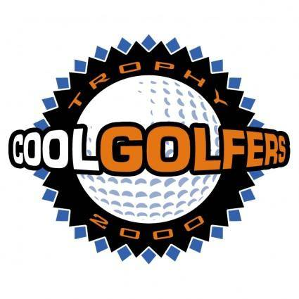 free vector Cool golfers