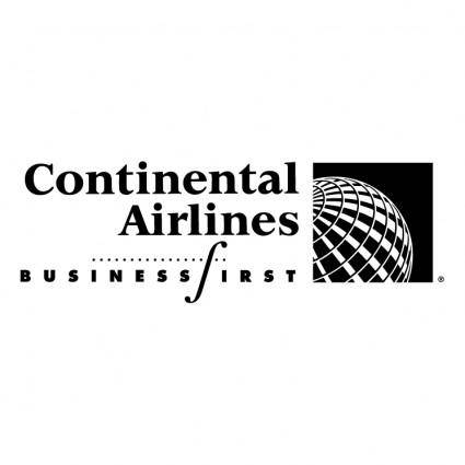 Continental airlines businessfirst