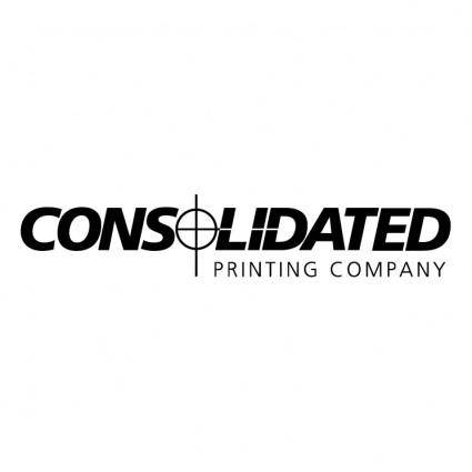 Consolidated printing company