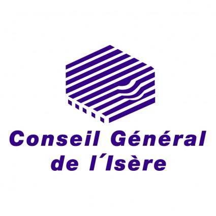 free vector Conseil general de lisere