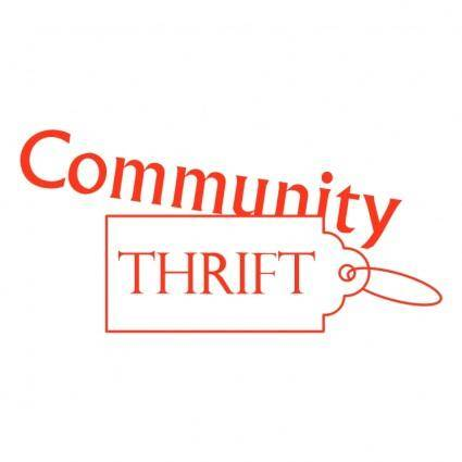 free vector Community thrift