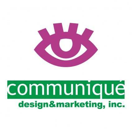 free vector Communique design marketing inc