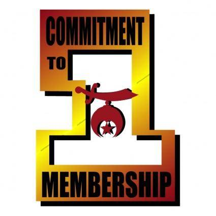 free vector Commitment to membership 0
