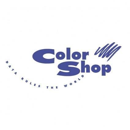 free vector Color shop