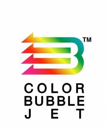 free vector Color bubble jet