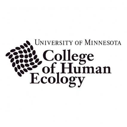 free vector College of human ecology 0