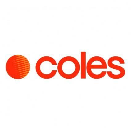 free vector Coles supermarkets