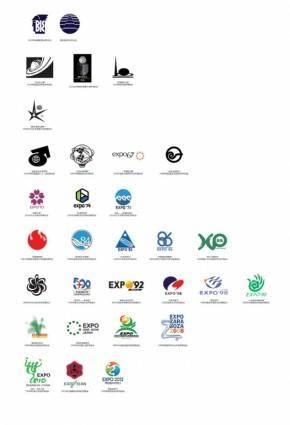 free vector Expos logo vector