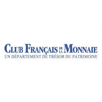 Club francais monnaie