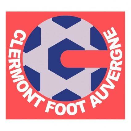 free vector Clermont foot auvergne