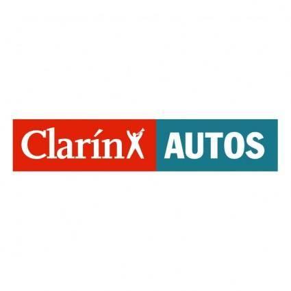 free vector Clarin autos