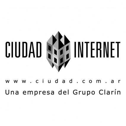 free vector Ciudad internet