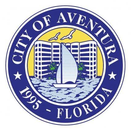 free vector City of aventura florida