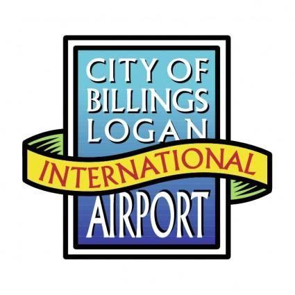 free vector City billings logan international airport