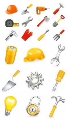 free vector Vector common household tools