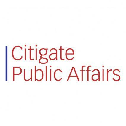 Citigate public affairs