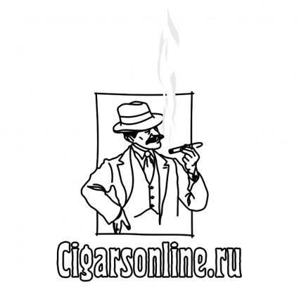 free vector Cigarsonlineru