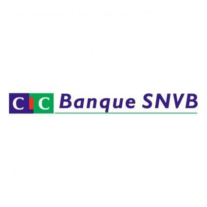 free vector Cic banque snvb
