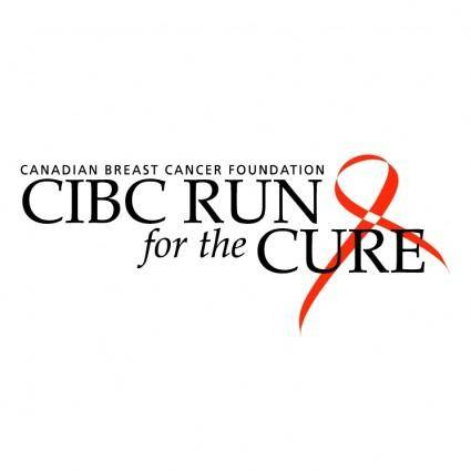 free vector Cibc run for the cure
