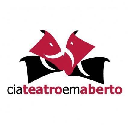free vector Cia teatro em aberto 1