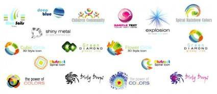 free vector Modern logo graphics vector