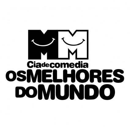 free vector Cia de comedia os melhores do mundo 0