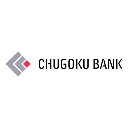 free vector Chugoku bank