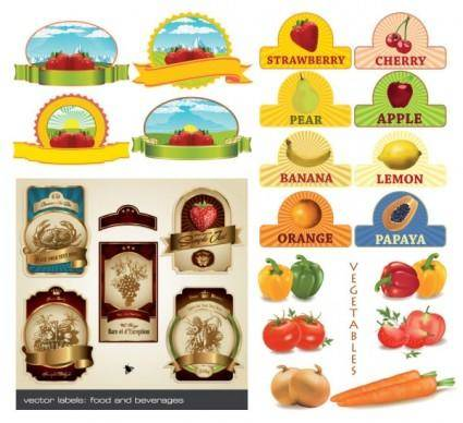 free vector Fruit theme vector