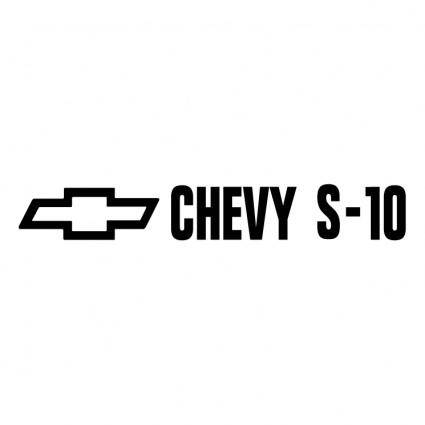 free vector Chevy s 10