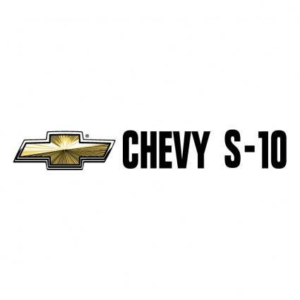 free vector Chevy s 10 0