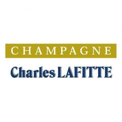 free vector Charles lafitte champagne