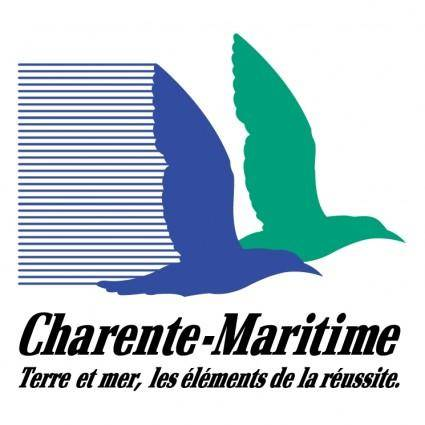 free vector Charente maritime region