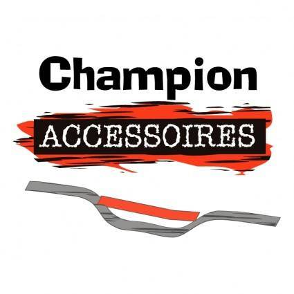 free vector Champion accessoires