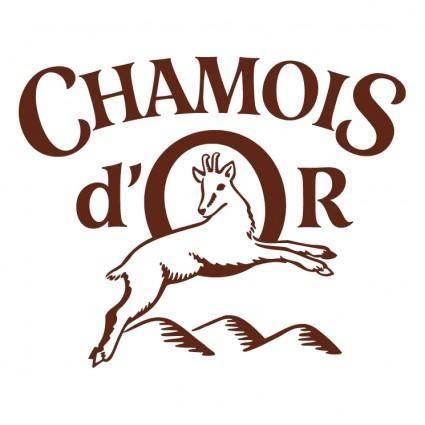 free vector Chamois dor
