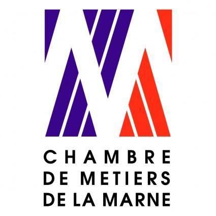 free vector Chambre de metiers de la marne