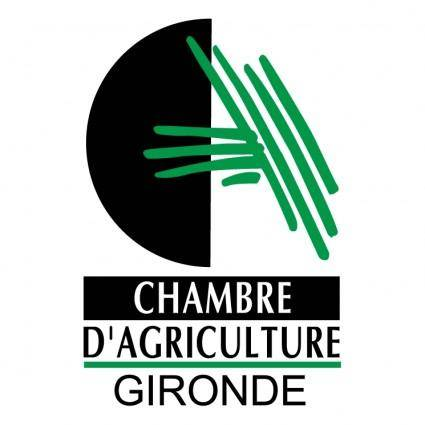 free vector Chambre dagriculture gironde