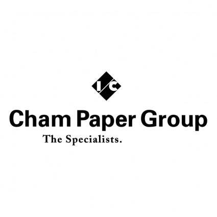 free vector Cham paper group