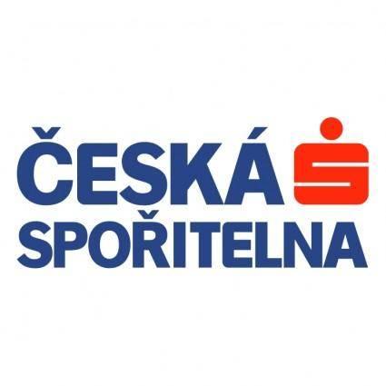 free vector Ceska sporitelna