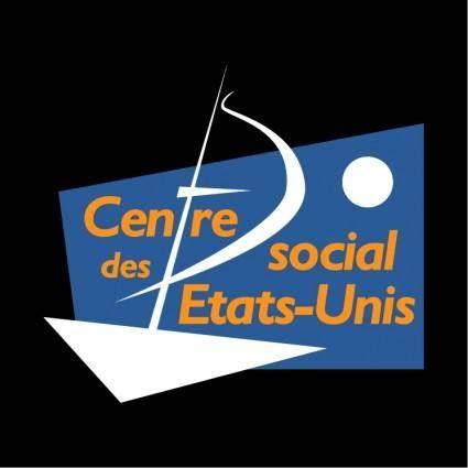 free vector Centre social des etats unis lyon 0