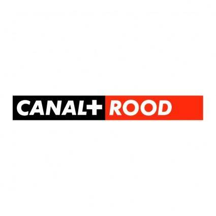 free vector Canal rood