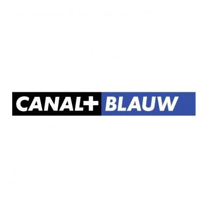 Canal blauw