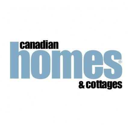free vector Canadian homes cottages