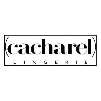 free vector Cacharel lingerie