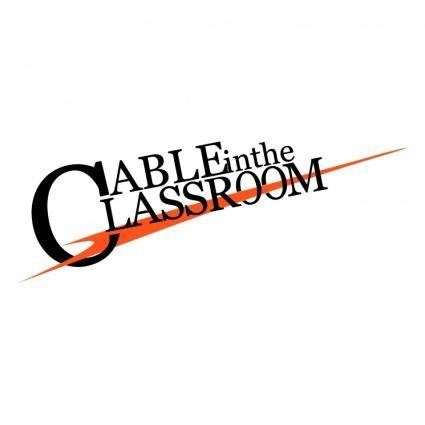 Cable in the classroom