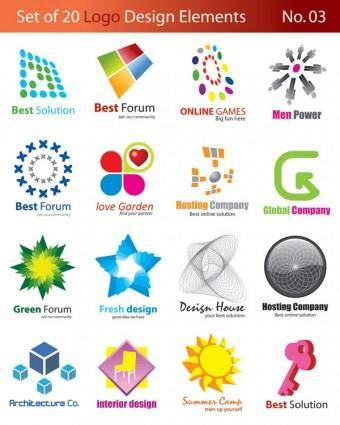 20 graphic design vector